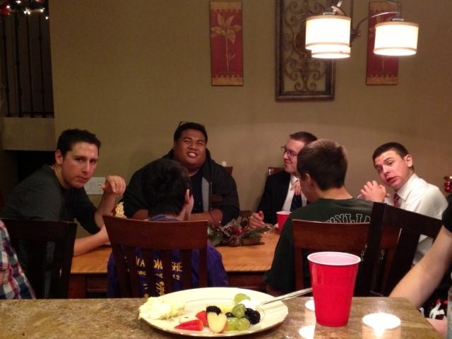 dinner with the boys