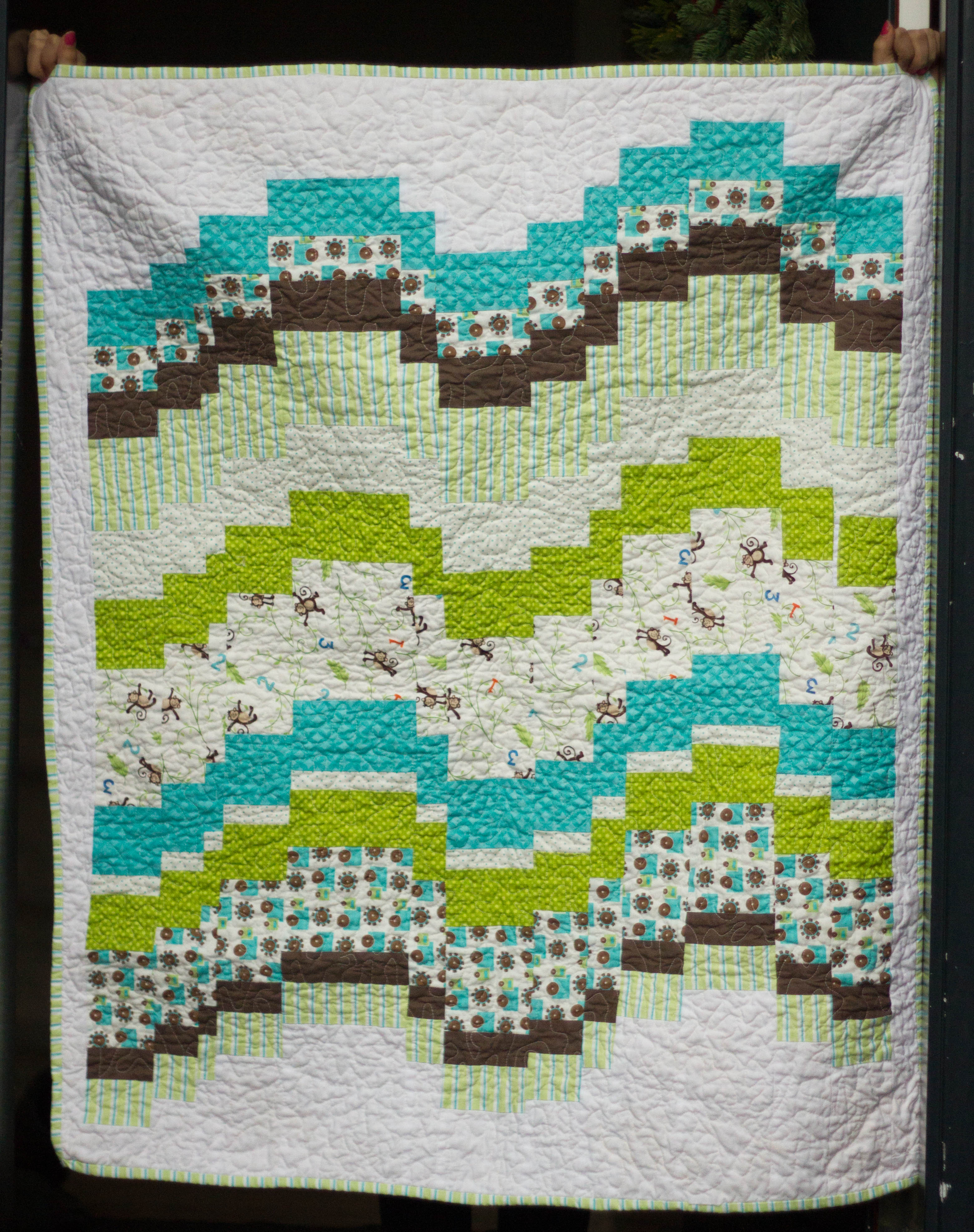 Baby Quilt Patterns For Boy : Baby Boy Quilt Life s Ups and Downs KrisRunner