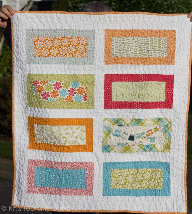 Heather baby girl quilt-3023