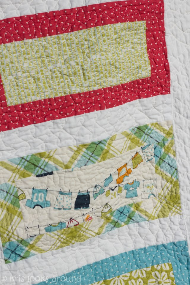 Heather baby girl quilt-3025