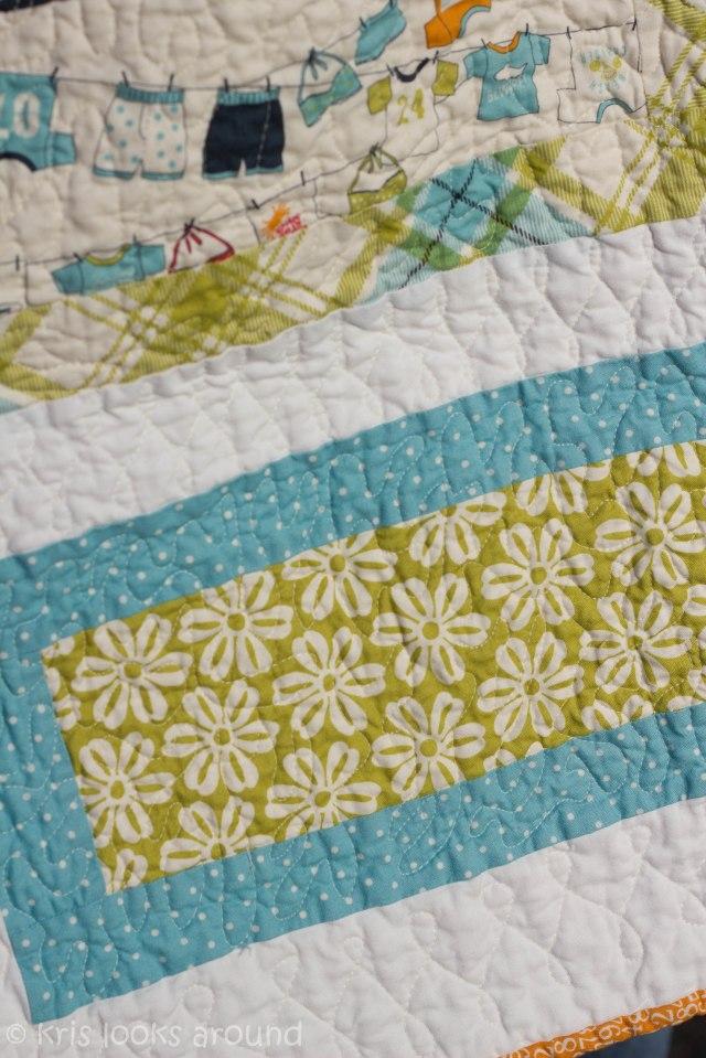 Heather baby girl quilt-3027