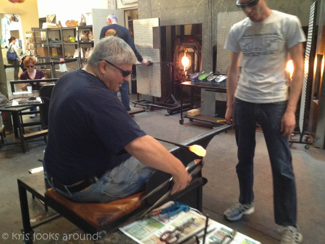 Glassblowing in Seattle July 2013-20