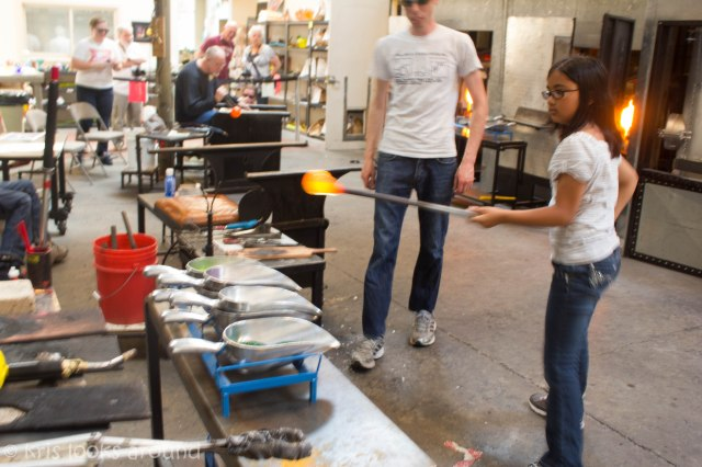 Glassblowing in Seattle July 2013-3
