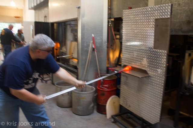 Glassblowing in Seattle July 2013-37