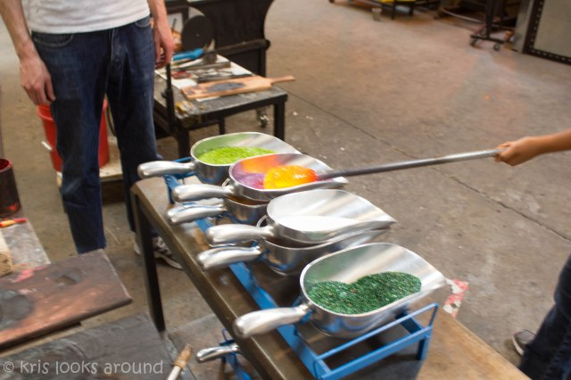 Glassblowing in Seattle July 2013-5