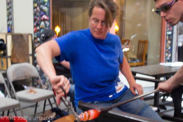 Glassblowing in Seattle July 2013-65
