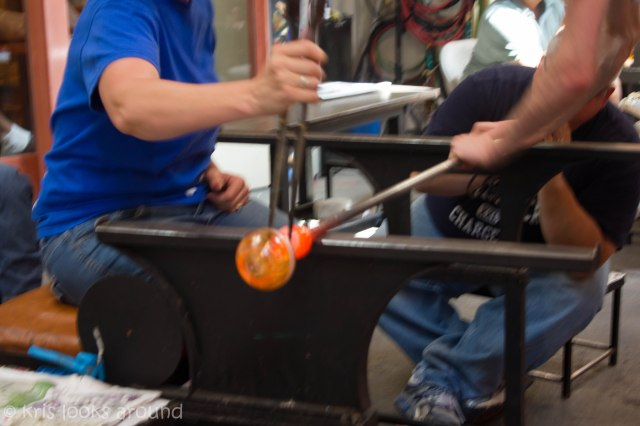 Glassblowing in Seattle July 2013-72