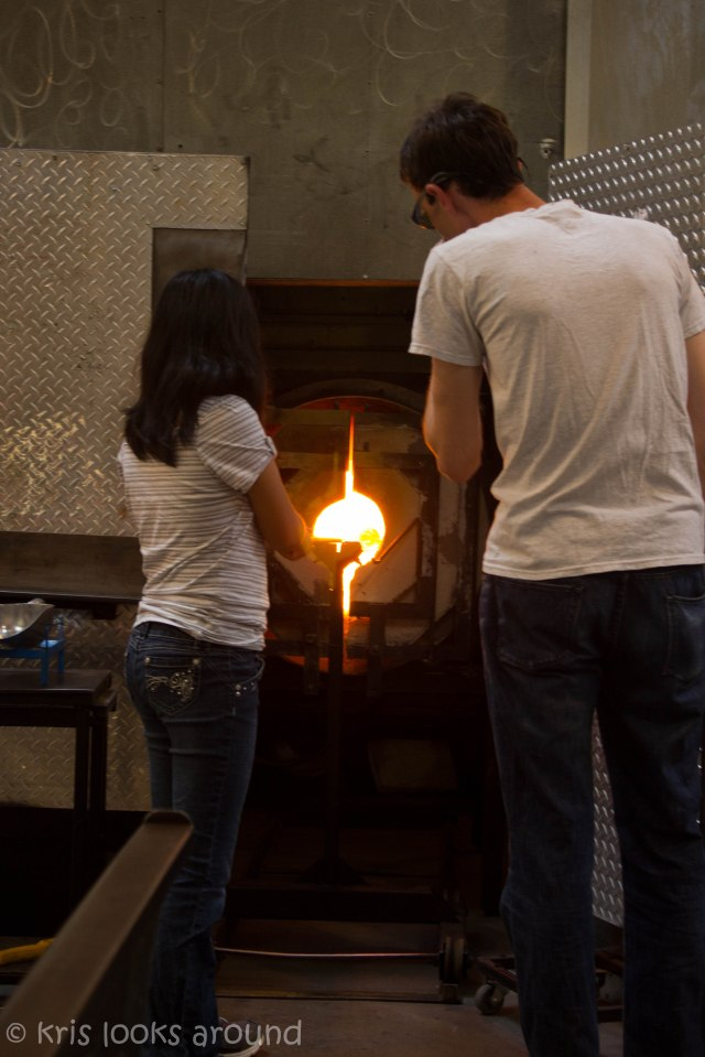 Glassblowing in Seattle July 2013-8