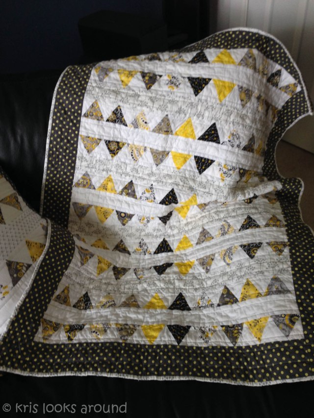 yellow and grey quilt-2