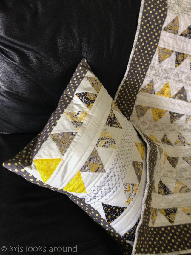yellow and grey quilt-3
